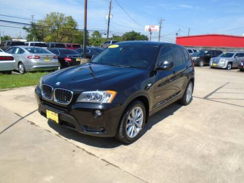 2013 BMW X3 for sale at BAS MOTORS in Houston TX