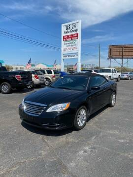 2013 Chrysler 200 Convertible for sale at US 24 Auto Group in Redford MI