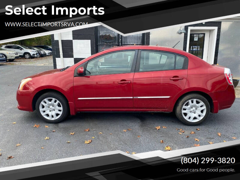 2010 Nissan Sentra for sale at Select Imports in Ashland VA