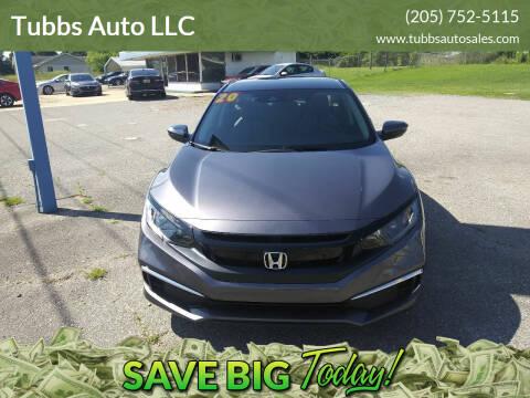 2020 Honda Civic for sale at Tubbs Auto LLC in Tuscaloosa AL