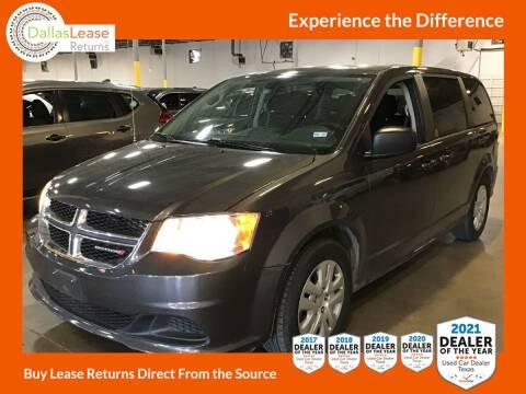 2018 Dodge Grand Caravan for sale at Dallas Auto Finance in Dallas TX