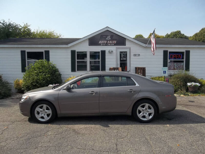 2011 Chevrolet Malibu for sale at R & L AUTO SALES in Mattawan MI