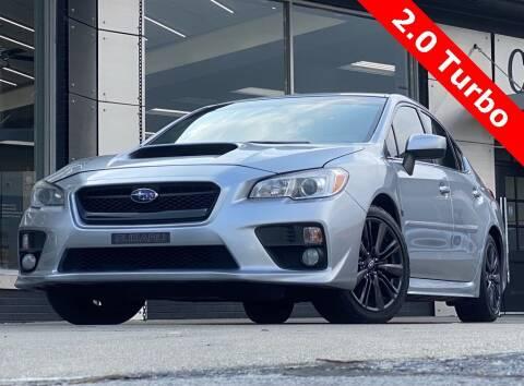 2015 Subaru WRX for sale at Carmel Motors in Indianapolis IN