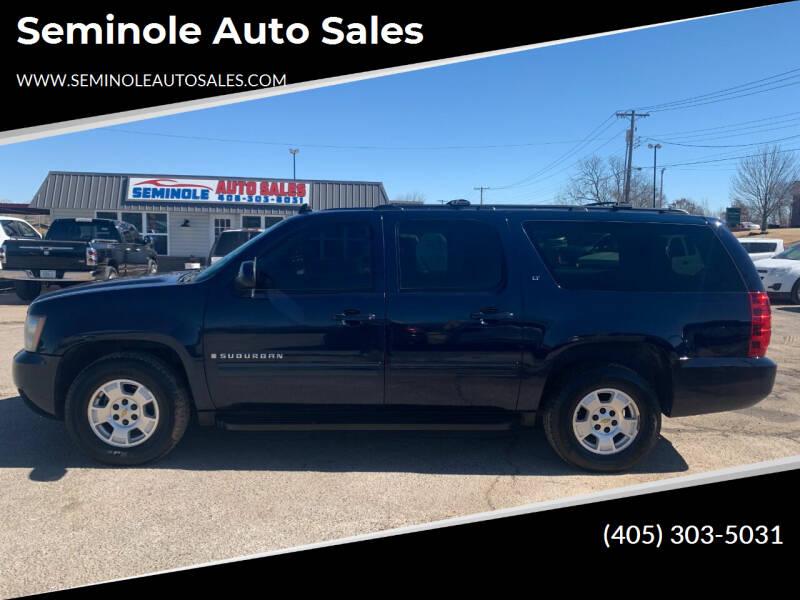 2009 Chevrolet Suburban for sale at Seminole Auto Sales in Seminole OK