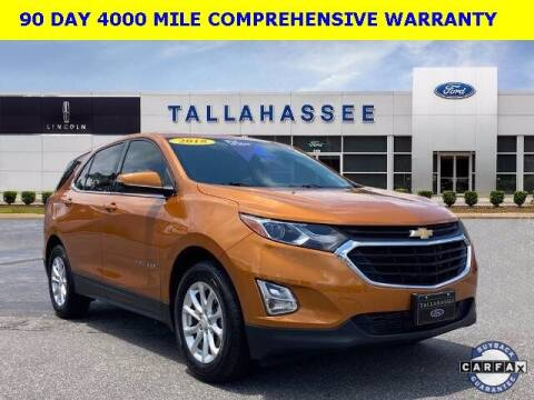 2018 Chevrolet Equinox for sale at PHIL SMITH AUTOMOTIVE GROUP - Tallahassee Ford Lincoln in Tallahassee FL