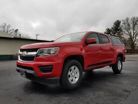 2016 Chevrolet Colorado for sale at Ridgeway's Auto Sales in West Frankfort IL