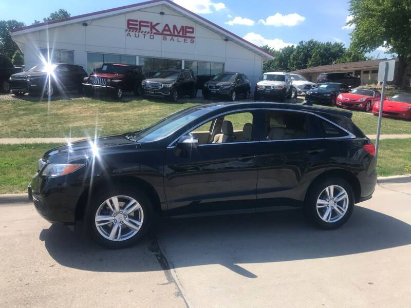 2015 Acura RDX for sale at Efkamp Auto Sales LLC in Des Moines IA