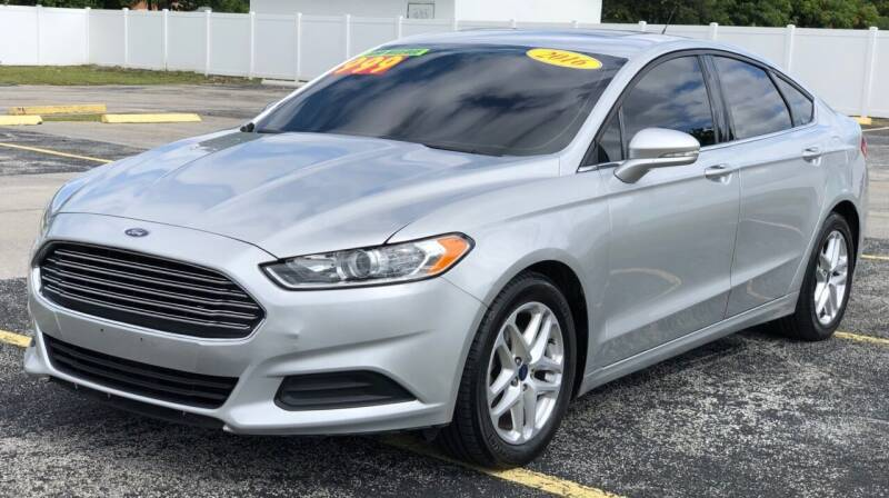 2016 Ford Fusion for sale at Guru Auto Sales in Miramar FL