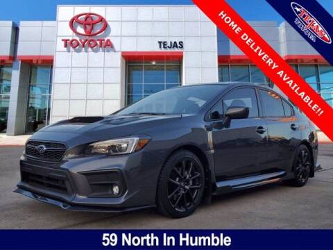 2020 Subaru WRX for sale at TEJAS TOYOTA in Humble TX