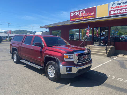 2015 GMC Sierra 1500 for sale at Pro Motors in Roseburg OR
