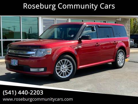2013 Ford Flex for sale at Roseburg Community Cars in Roseburg OR