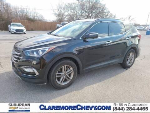 2018 Hyundai Santa Fe Sport for sale at Suburban Chevrolet in Claremore OK