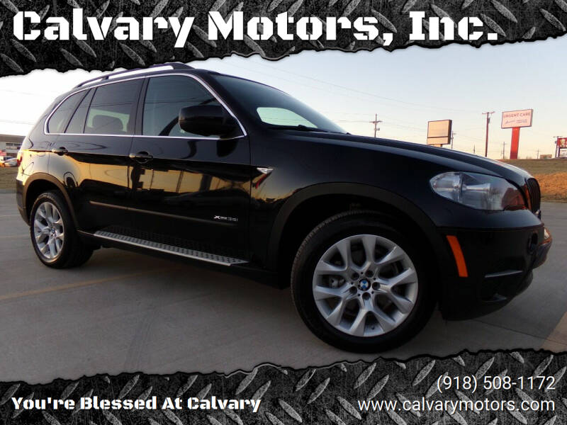 2013 BMW X5 for sale at Calvary Motors, Inc. in Bixby OK