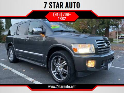 2006 Infiniti QX56 for sale at 7 STAR AUTO in Sacramento CA