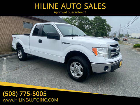 2014 Ford F-150 for sale at HILINE AUTO SALES in Hyannis MA