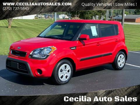 2013 Kia Soul for sale at Cecilia Auto Sales in Elizabethtown KY