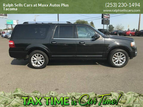 2015 Ford Expedition EL for sale at Ralph Sells Cars at Maxx Autos Plus Tacoma in Tacoma WA