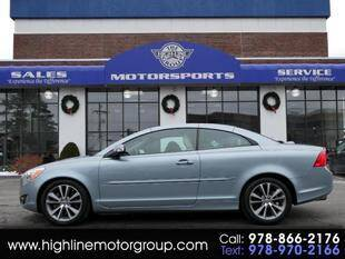 2013 Volvo C70 for sale at Highline Group Motorsports in Lowell MA