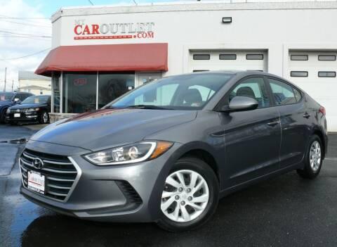2018 Hyundai Elantra for sale at MY CAR OUTLET in Mount Crawford VA
