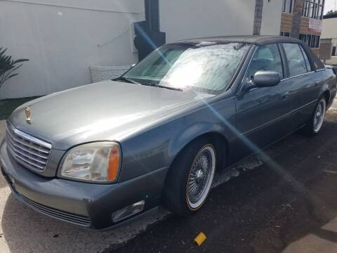 2004 Cadillac DeVille for sale at Trini-D Auto Sales Center in San Diego CA