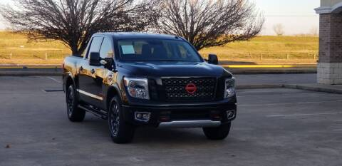 2017 Nissan Titan for sale at America's Auto Financial in Houston TX