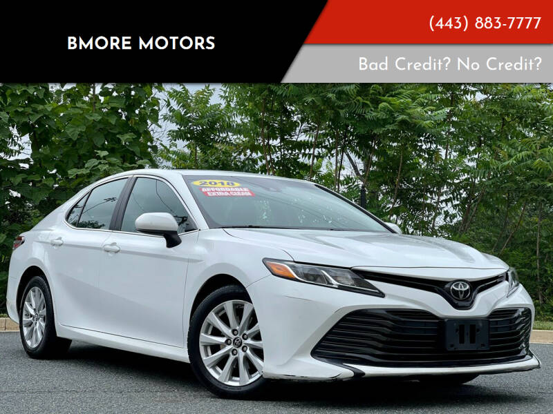 2018 Toyota Camry for sale at Bmore Motors in Baltimore MD