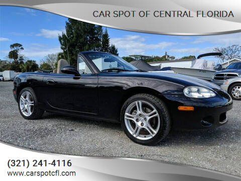 2005 Mazda MX-5 Miata for sale at Car Spot Of Central Florida in Melbourne FL