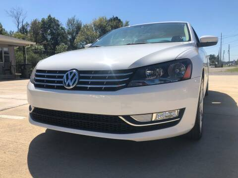 2014 Volkswagen Passat for sale at A&C Auto Sales in Moody AL