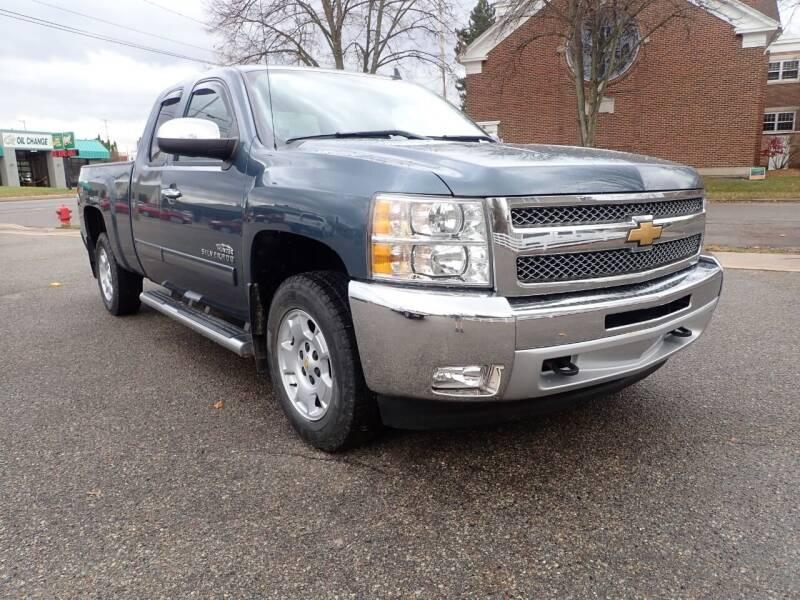 2013 Chevrolet Silverado 1500 for sale at Marvel Automotive Inc. in Big Rapids MI
