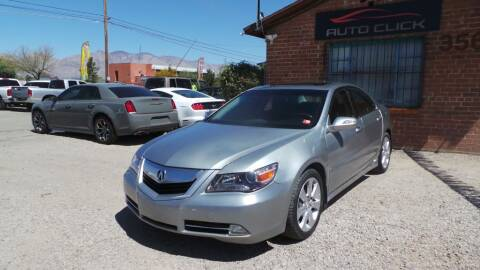 2010 Acura RL for sale at Auto Click in Tucson AZ