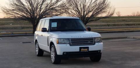 2011 Land Rover Range Rover for sale at America's Auto Financial in Houston TX
