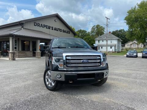 2013 Ford F-150 for sale at Drapers Auto Sales in Peru IN
