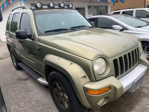 2002 Jeep Liberty for sale at STL Automotive Group in O'Fallon MO
