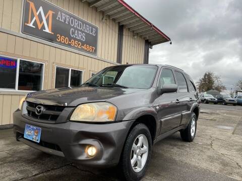 2005 Mazda Tribute for sale at M & A Affordable Cars in Vancouver WA