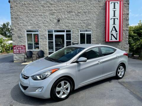 2012 Hyundai Elantra for sale at Titan Auto Sales LLC in Albany NY
