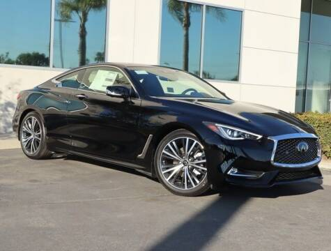 2021 Infiniti Q60 for sale at ORANGE COAST CARS in Westminster CA