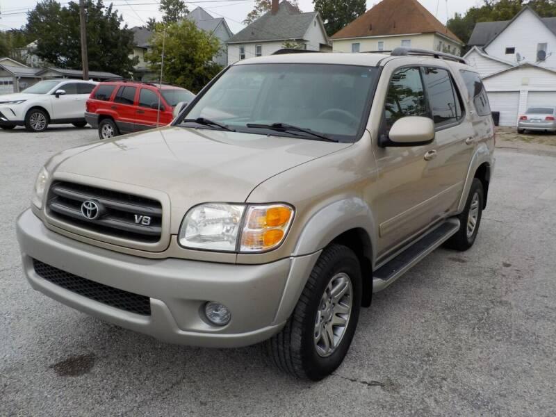 2003 Toyota Sequoia for sale at SEBASTIAN AUTO SALES INC. in Terre Haute IN