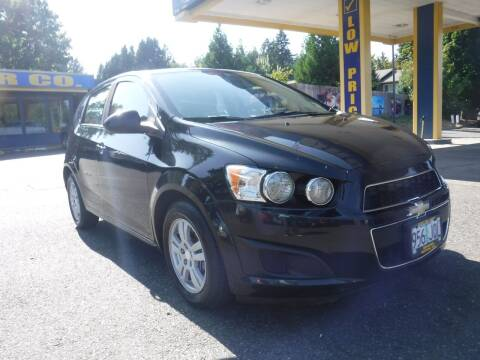 2015 Chevrolet Sonic for sale at Brooks Motor Company, Inc in Milwaukie OR