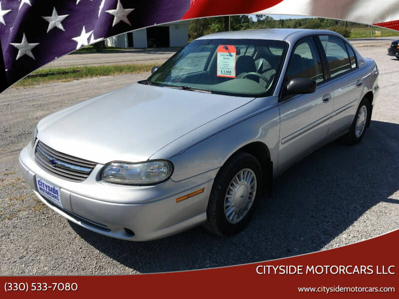 2002 Chevrolet Malibu for sale at CITYSIDE MOTORCARS LLC in Canfield OH