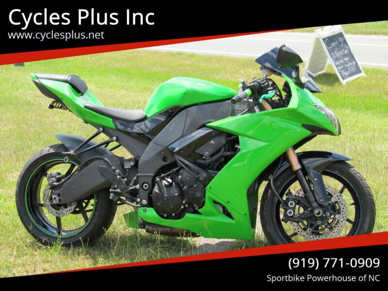 2008 Kawasaki Ninja ZX-10R for sale at Cycles Plus Inc in Garner NC