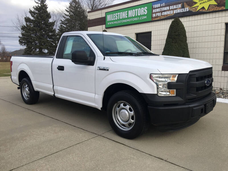 2016 Ford F-150 for sale at MILESTONE MOTORS in Chesterfield MI