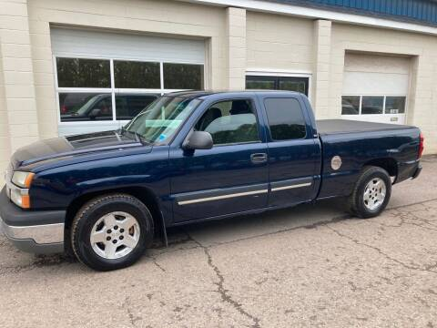 2005 Chevrolet Silverado 1500 for sale at Ogden Auto Sales LLC in Spencerport NY