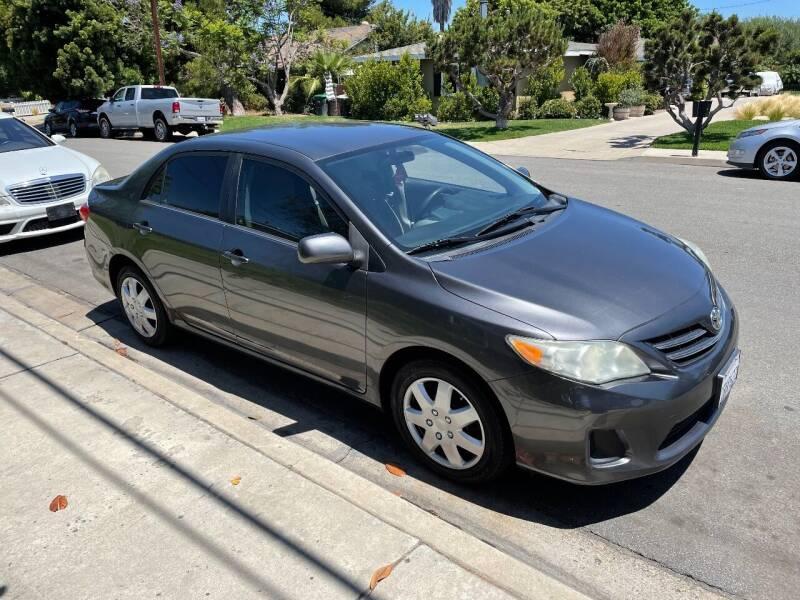 2013 Toyota Corolla for sale at PACIFIC AUTOMOBILE in Costa Mesa CA