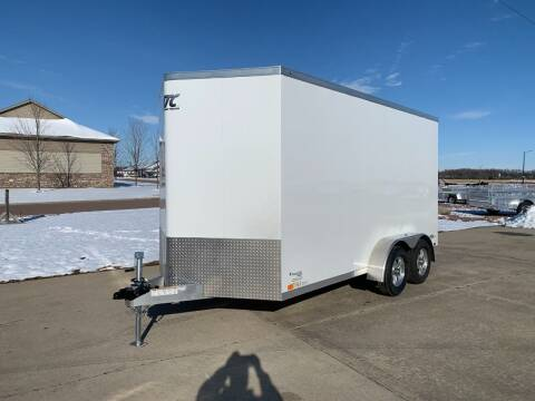 2021 ATC RAVEN 7x14x7 White #1354 for sale at Prairie Wind Trailers, LLC in Harrisburg SD