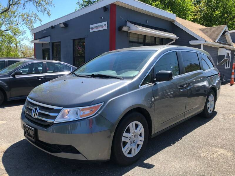 2012 Honda Odyssey for sale at Auto Kraft in Agawam MA