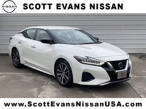 2019 Nissan Maxima for sale at Scott Evans Nissan in Carrollton GA