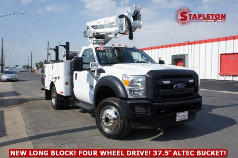 2012 Ford F-550 Super Duty for sale at STAPLETON MOTORS in Commerce City CO
