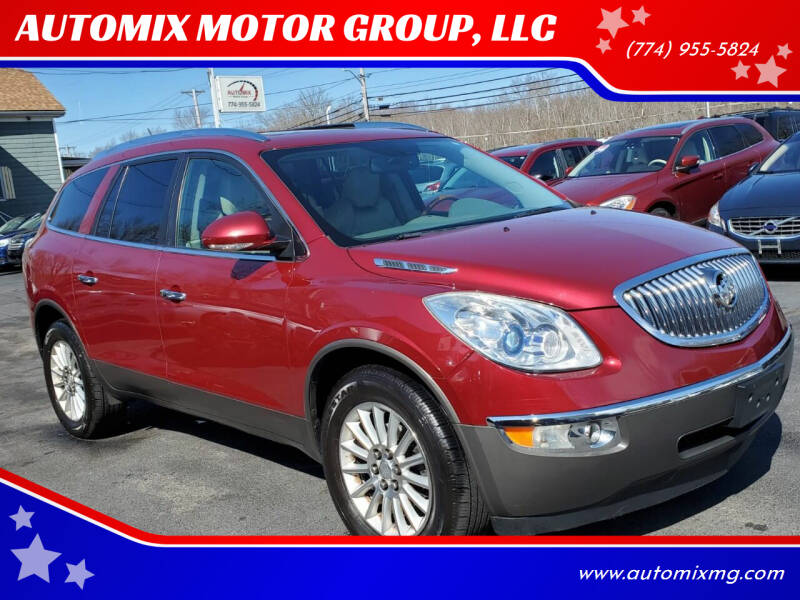 2011 Buick Enclave for sale at AUTOMIX MOTOR GROUP, LLC in Swansea MA