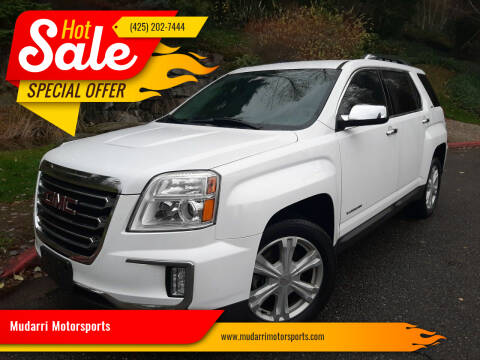 2017 GMC Terrain for sale at Mudarri Motorsports in Kirkland WA