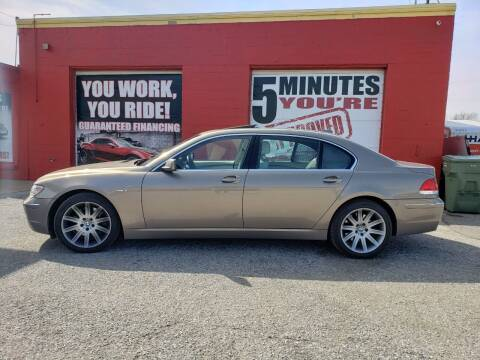 2006 BMW 7 Series for sale at Memphis Finest Auto, LLC in Memphis TN